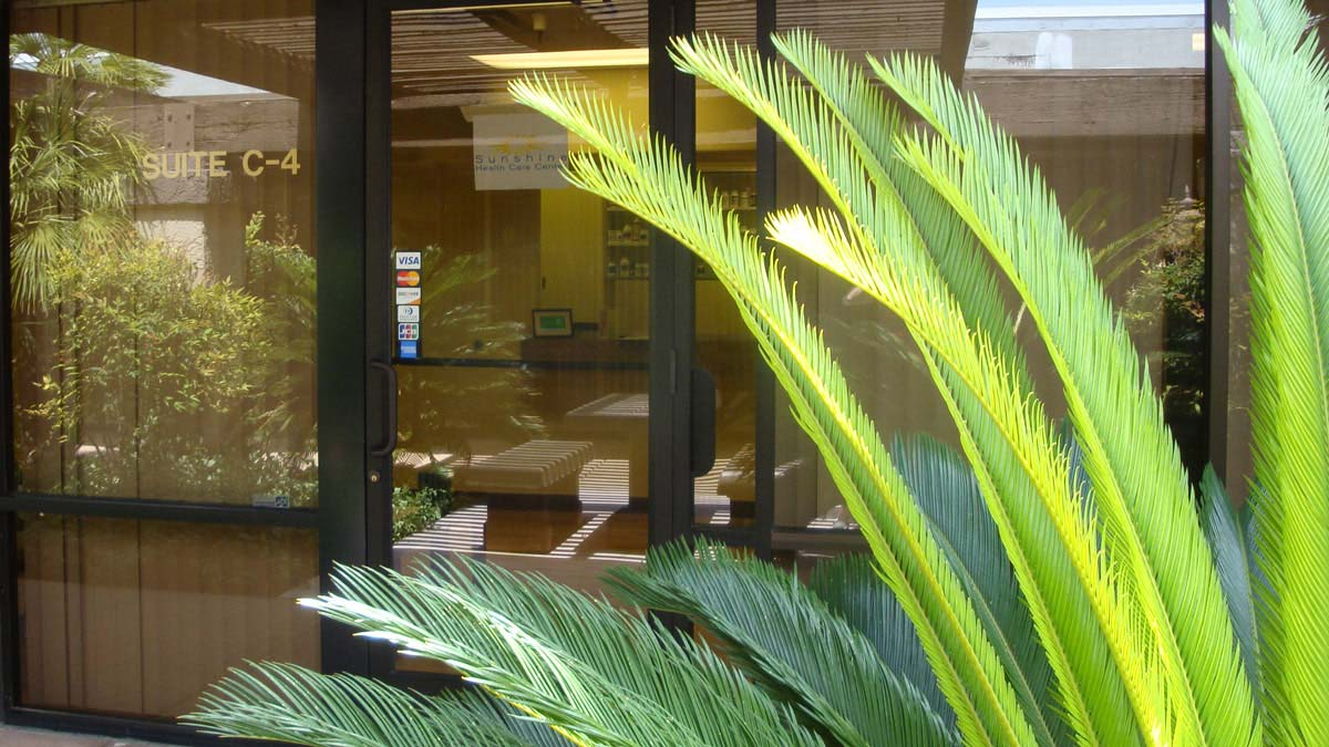 Picture of Sunshine Health Care Center front entrance